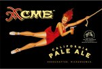 Colored Horse Studio's redesign of the Acme Ale with illustration by Eric Grbich
