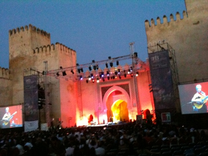 Joan Baez at the Fez Festival 2012