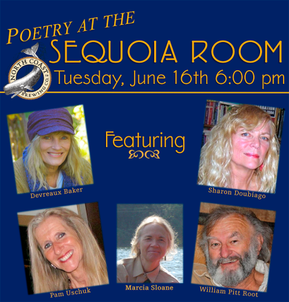 Poetry at the North Coast Brewing Sequoia Room