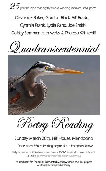 Quadranscentennial Poetry Poster
