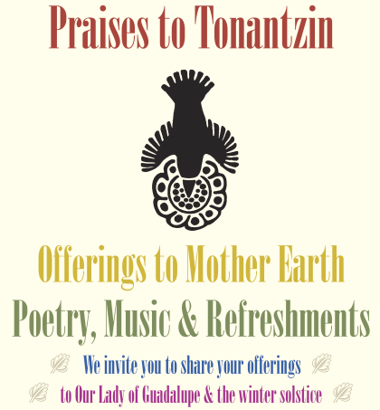 Virgin of Guadalupe Bilingual Poetry